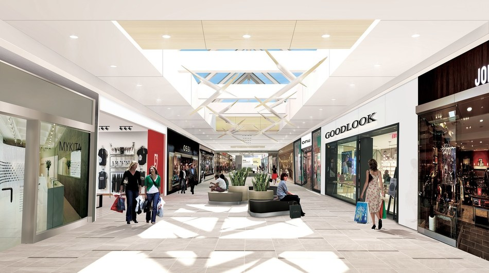 The Centre new interior (CNW Group/Morguard Real Estate Investment Trust)