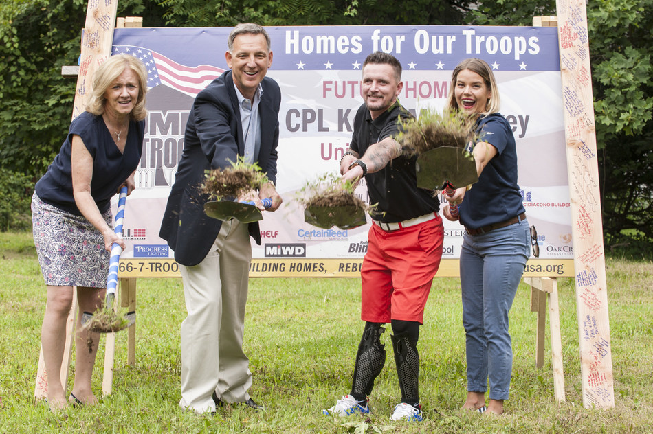 Wounded Warrior Project (WWP) announced its support for Homes for Our Troops (HFOT), a nonprofit organization that builds and donates specially adapted custom homes nationwide for severely injured post-9/11 veterans, to empower them to rebuild their lives.