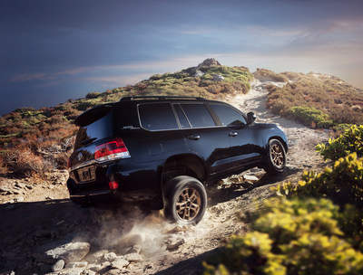 The 2020 Toyota Land Cruiser Heritage Edition melds exclusive design with added function and will be offered as a two-row model to maximize cargo capacity.