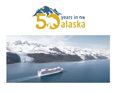 Princess Cruises Celebrates 50 Years of Alaska Sailings