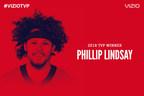 Breakout Running Back Phillip Lindsay Named 2018 VIZIO Top Value Performer