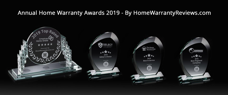Winners of Annual Home Warranty Awards by HomeWarrantyReviews.com