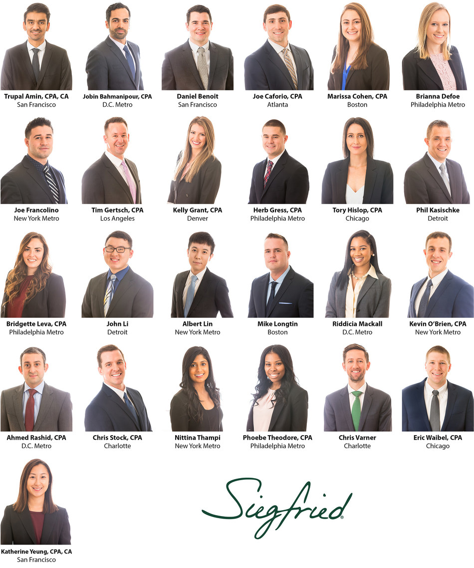 Siegfried welcomes new Professionals in its 18 national markets
