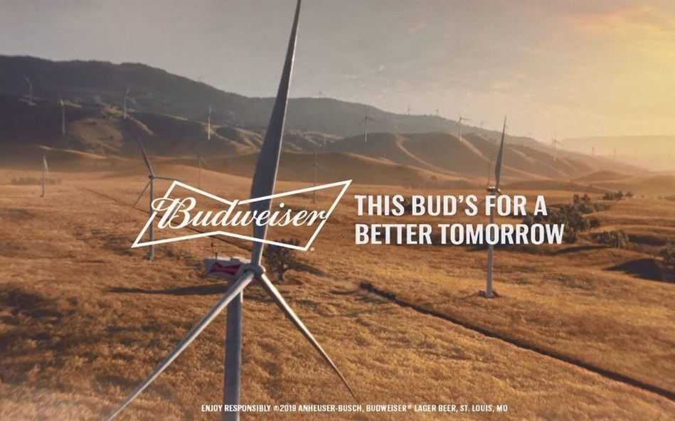 This Bud's For a Better Tomorrow.