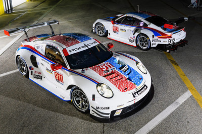 Porsche GT Team to Carry Retro Colors