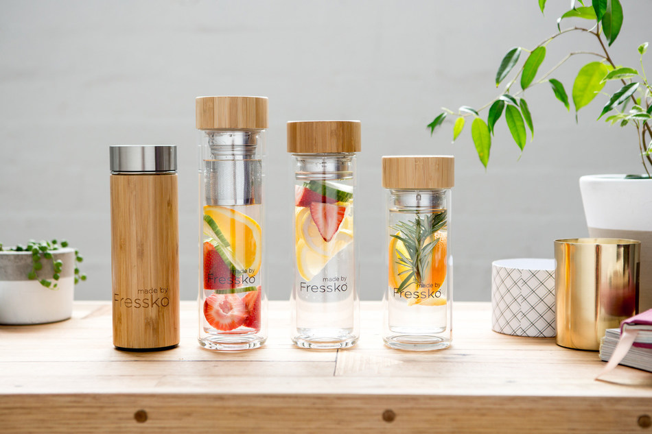 Fressko, an Australian company that creates premium glass and bamboo-encased stainless steel flasks and infusers, is revolutionizing the water bottle industry.