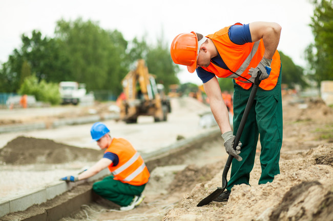 Construction laborers have a 12% growth outlook.