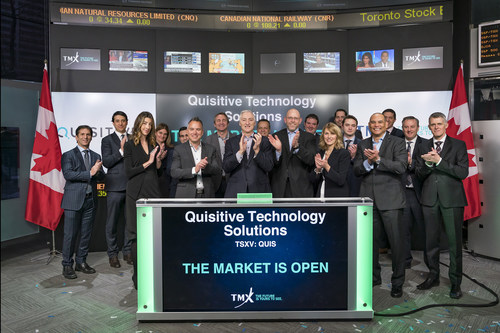 Quisitive Technology Solutions Inc. Opens the Market (CNW Group/TMX Group Limited)