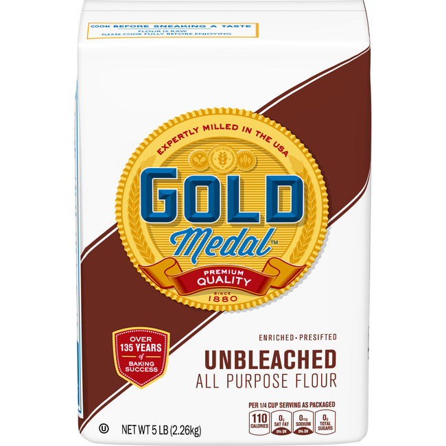 General Mills announced a voluntary national recall of five-pound bags of its Gold Medal Unbleached Flour with a better if used by date of April 20, 2020.