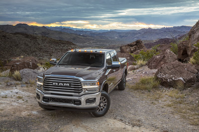 2019 Ram Heavy Duty Laramie Longhorn Makes Its Debut in Houston, Texas.
