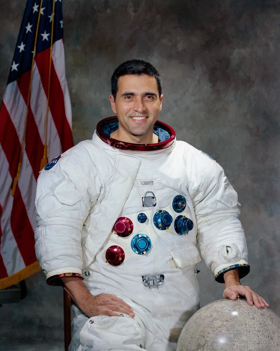 Apollo 17 astronaut and Senator Harrison Schmitt will be a featured VIP at Apollopalooza in Denver, Colorado. Photo credit - NASA.