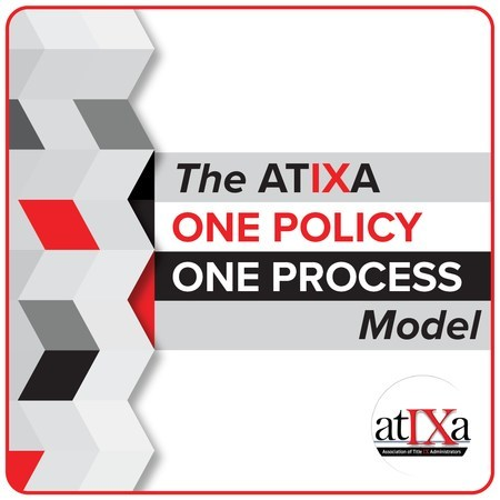 The ATIXA One Policy, One Process Model