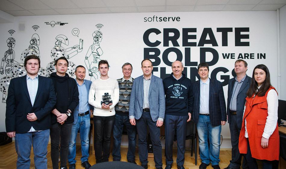 SoftServe Opens Robotics Laboratory at Ivan Franko Lviv National University