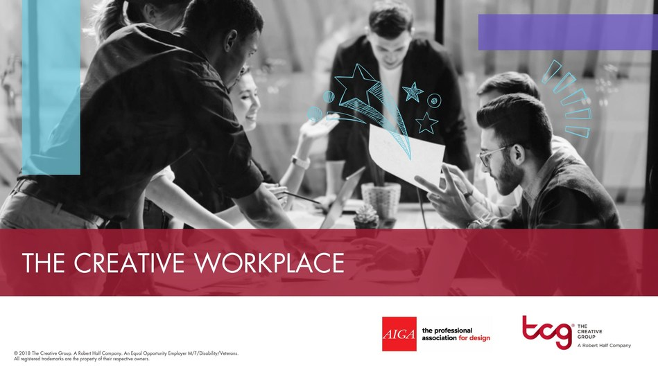Research from The Creative Group and AIGA reveals five workplace trends impacting creative teams.