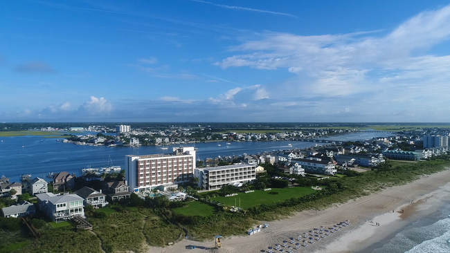 Blockade Runner Beach Resort - Wrightsville Beach, North Carolina - Photo courtesy of Aerial Optics