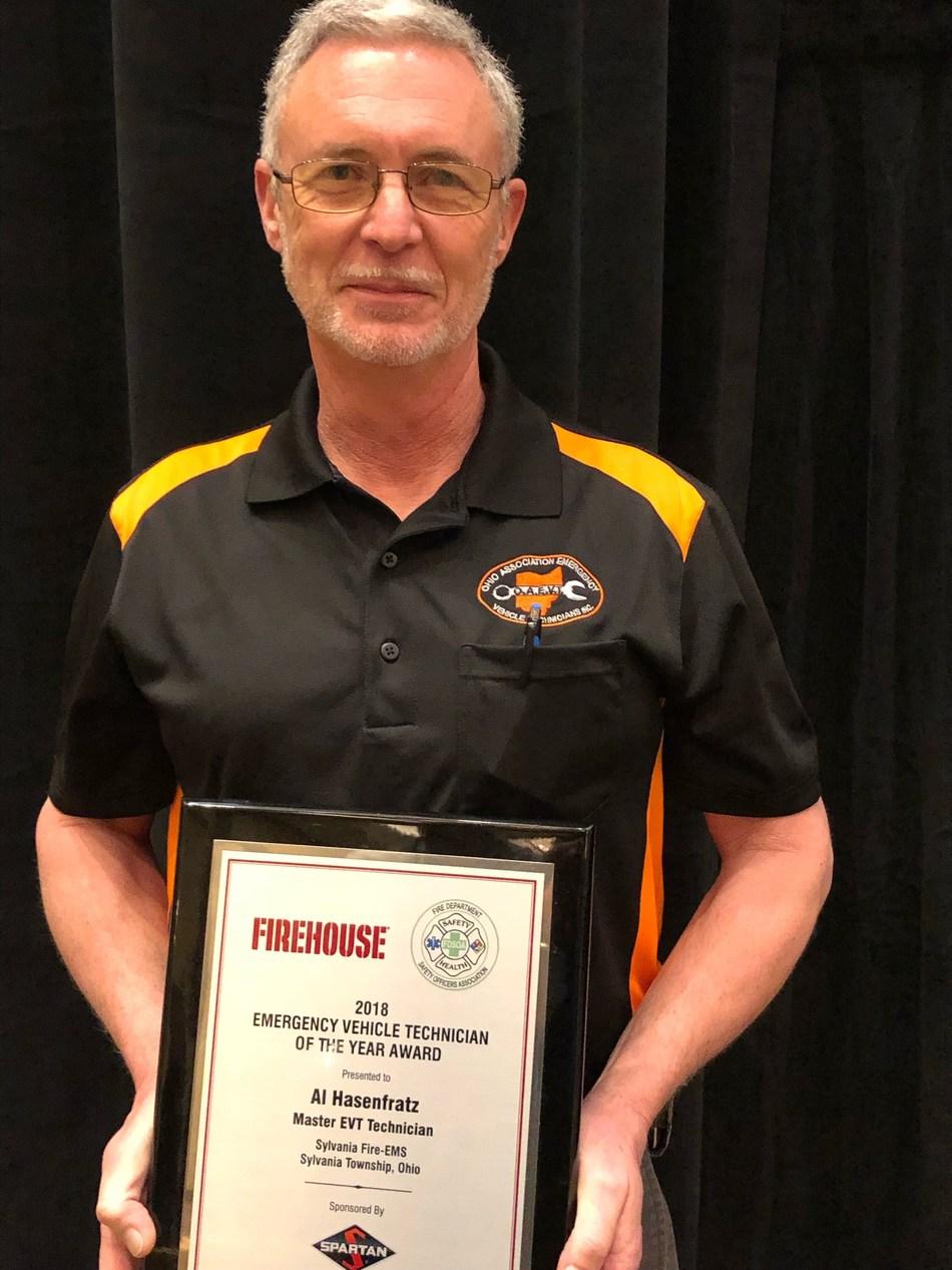 Al Hasenfratz, Master Duty EVT of the Fire-EMS Department in Sylvania, Ohio