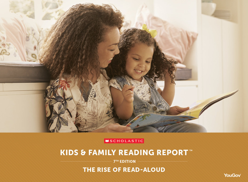 In advance of the 10th annual World Read Aloud Day, new data from the Scholastic Kids & Family Reading Report™ show more parents are reading aloud early on in their children's lives.
