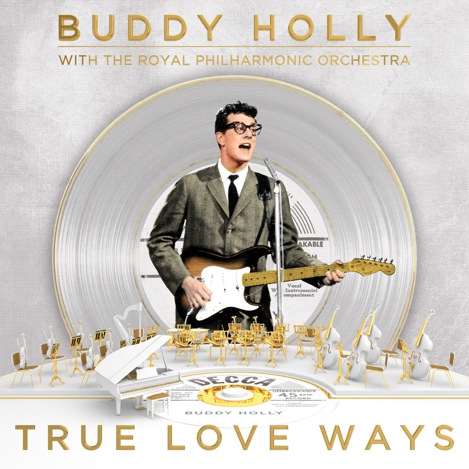 Decca/UMe is pleased to announce the U.S. release of Buddy Holly with the Royal Philharmonic Orchestra: 'True Love Ways,' a stunning new collection of Buddy Holly's most beloved hits set to brand new orchestrations. The album is available now for digital purchase and streaming, and for preorder on CD and 2LP vinyl.  https://UMe.lnk.to/TrueLoveWays
