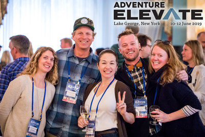 The annual AdventureELEVATE event gathers members of the adventure travel community for destination exploration, networking opportunities, and informative and interactive training in Lake George, New York, on June 10-12, 2019.