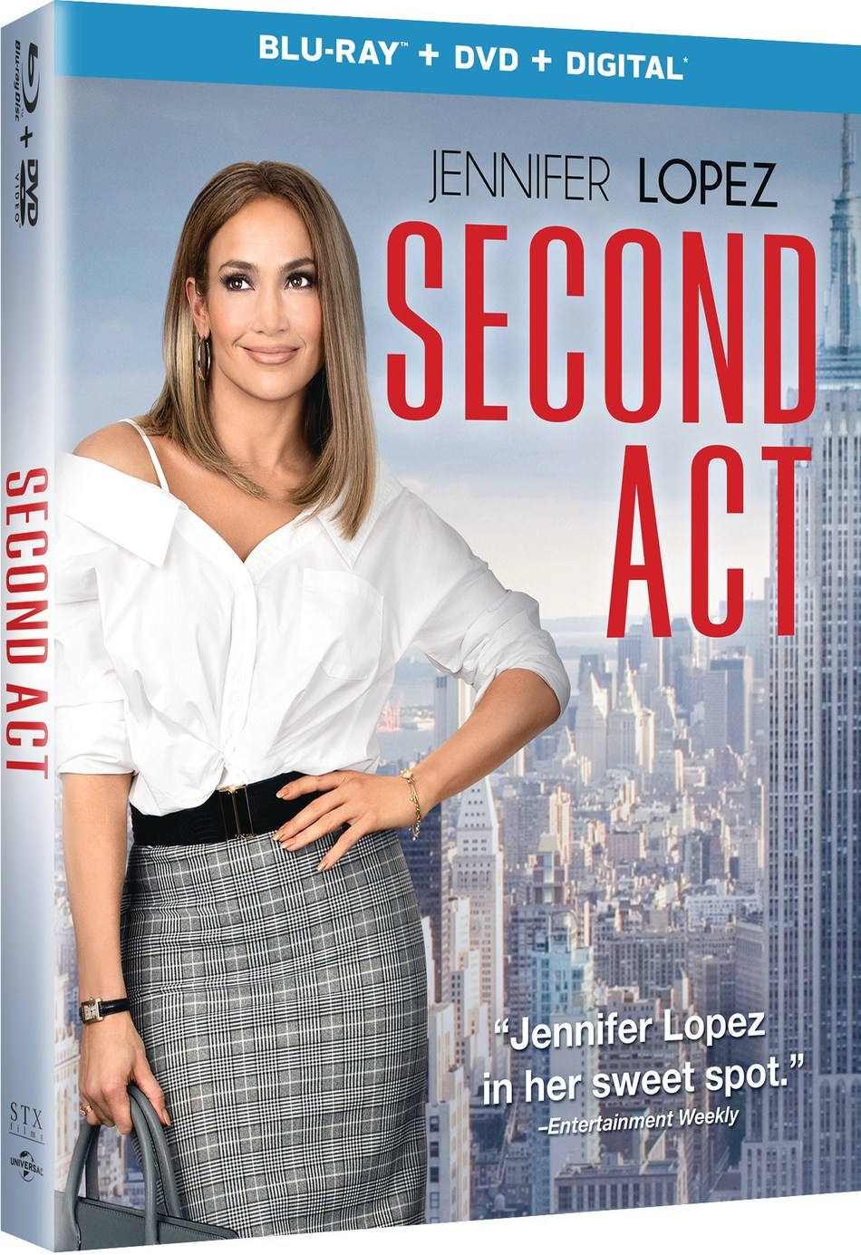 From STXfilms and Universal Pictures Home Entertainment: Second Act