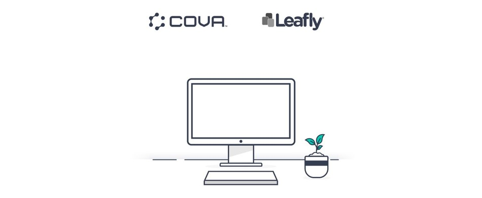 Leafly and Cova Partner to Bring Omnichannel Experience to Cannabis Industry (CNW Group/Cova Software)