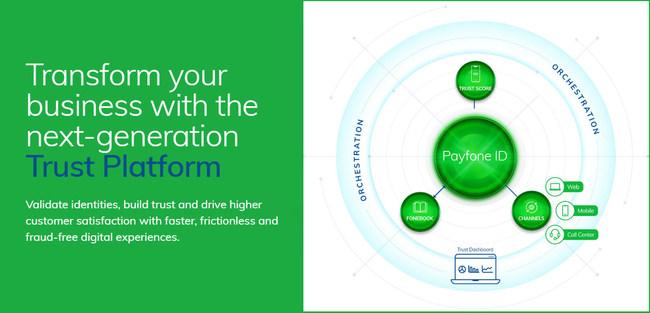 Payfone's new Trust Platform.
