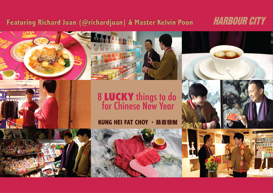 A lively dialogue on eight lucky things to do during Chinese New Year, featuring celebrity influencer Richard Juan and Feng Shui Master Kelvin Poon, who studied after the famous Grand Master Peter So Man-fung.