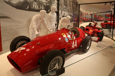 The Asia's first Ferrari: Under the Skin Exhibition features over 10 cars of significance and some 100 original artefacts from the legendary Italian marque's rich history.