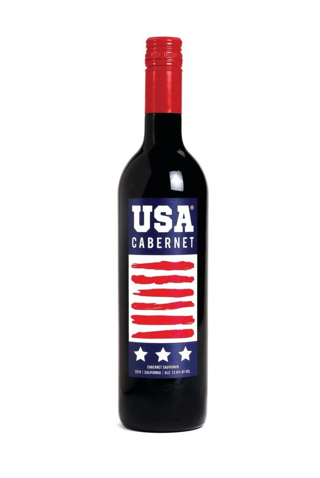 USA Cabernet bottle