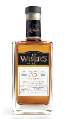 Corby's whiskies win big at the Canadian Whisky Awards (CNW Group/Corby Spirit and Wine Communications)