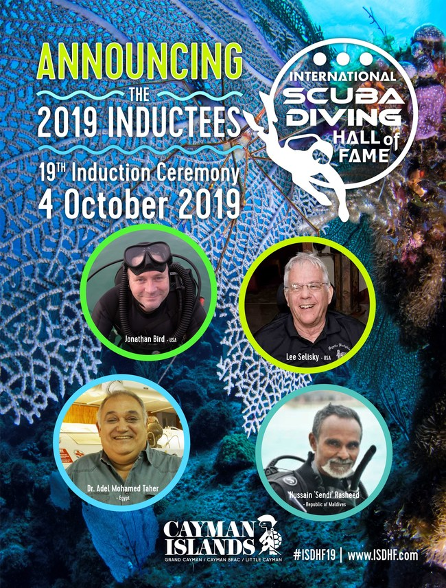 2019 International Scuba Diving Hall of Fame Inductees
