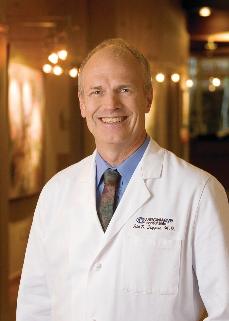 John D. Sheppard, M.D., M.M.Sc., president of Virginia Eye Consultants