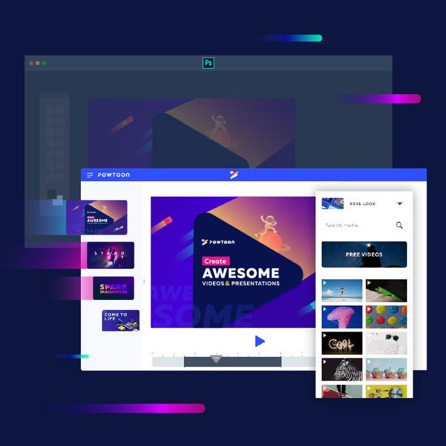 Powtoon and Adobe Partner