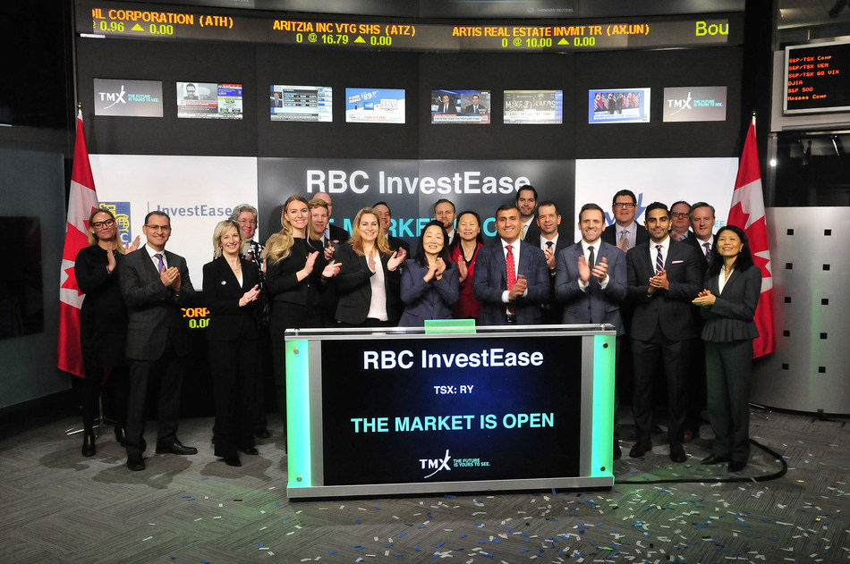 RBC InvestEase Opens the Market (CNW Group/TMX Group Limited)