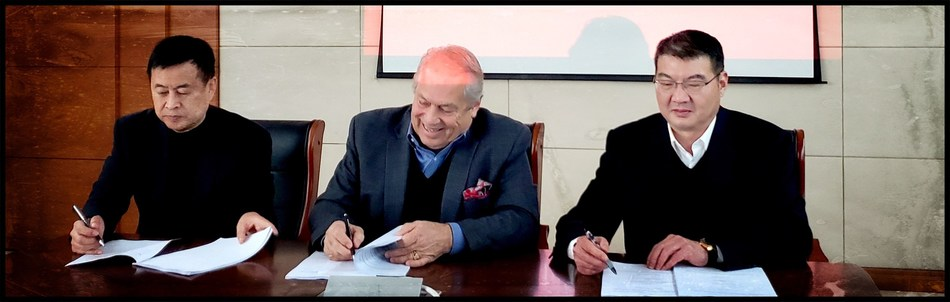 Official Signing of our Joint Venture Agreement