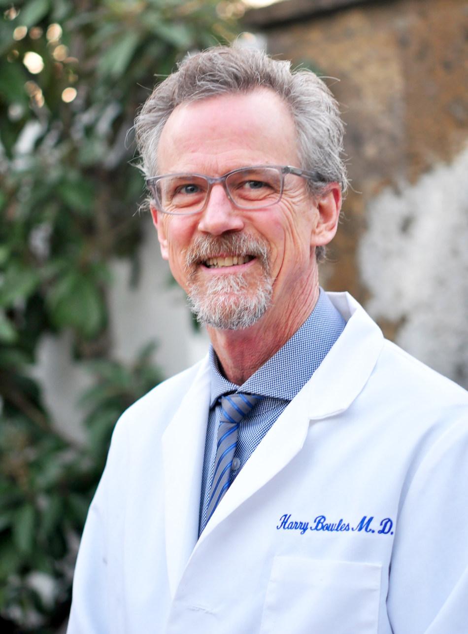 Harry Fisk Bowles, MD, Chief of Medical Staff at Huntington Hospital in Pasadena, California