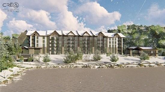 Rendering C Hôtels Tremblant (CNW Group/Tremblant Resort Association)