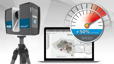 FARO apresenta atualizações que aceleram drasticamente o fluxo de trabalho de captura de dados no local e processamento no escritório