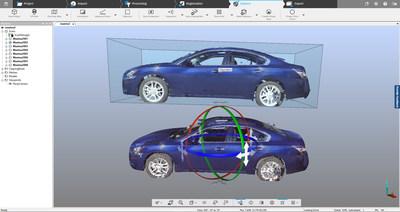 Convierta las nubes de puntos en modelos 3D - Exporte nubes de puntos en malla desde SCENE a FARO Zone 3D o a paquetes de software de otras marcas.