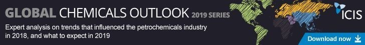 ICIS publishes Global Chemical Outlooks 2019 (PRNewsfoto/ICIS)