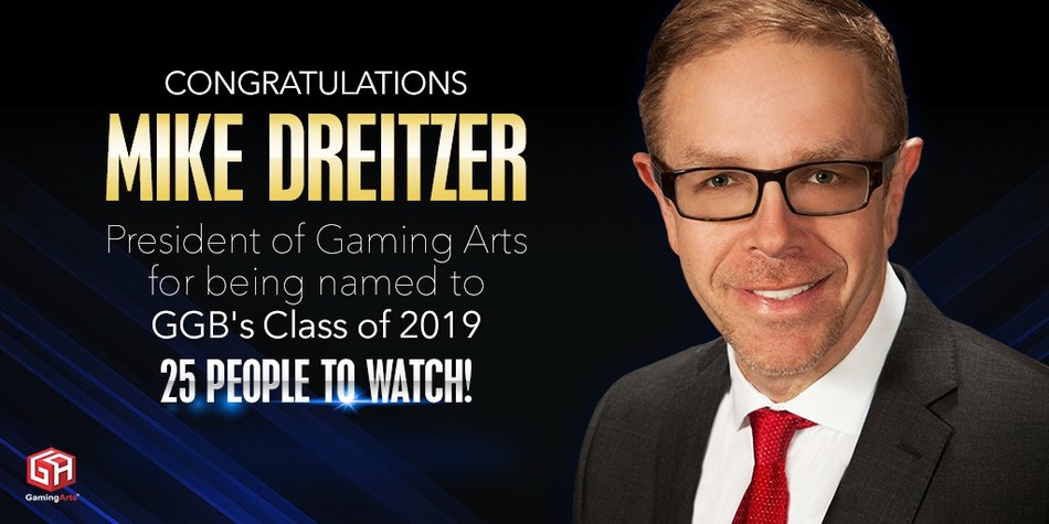 '25 People to Watch' for 2019 Honoree Mike Dreizter, President, Gaming Arts