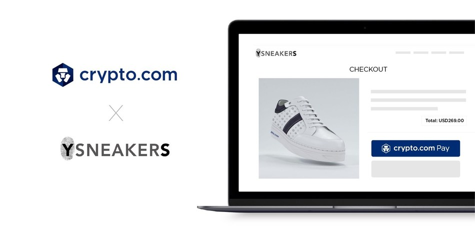 YSNEAKERS will implement Crypto.com Pay (PRNewsfoto/Crypto.com)