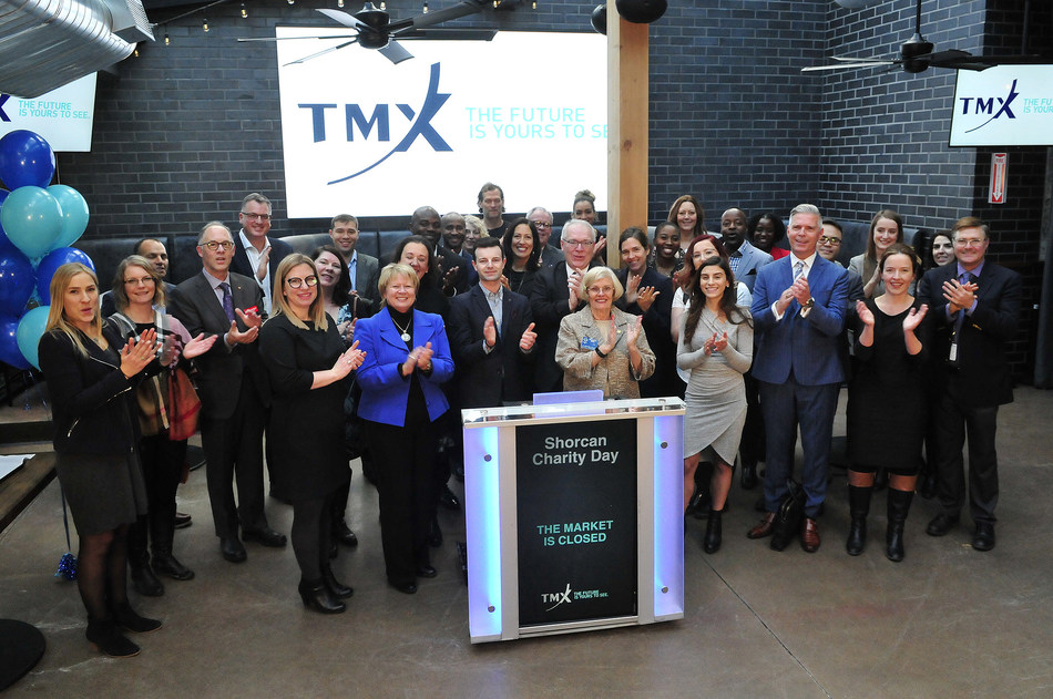Shorcan Charity Day Closes the Market (CNW Group/TMX Group Limited)