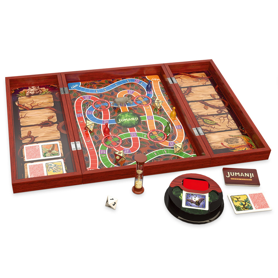 UK Toy and Supplier Game of the Year 2019 Award Winner - Jumanji Board Game