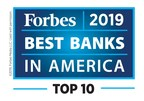 "Cathay General Bancorp Ranked Top 10 on Forbes' ""America's Best Banks 2019"" List"