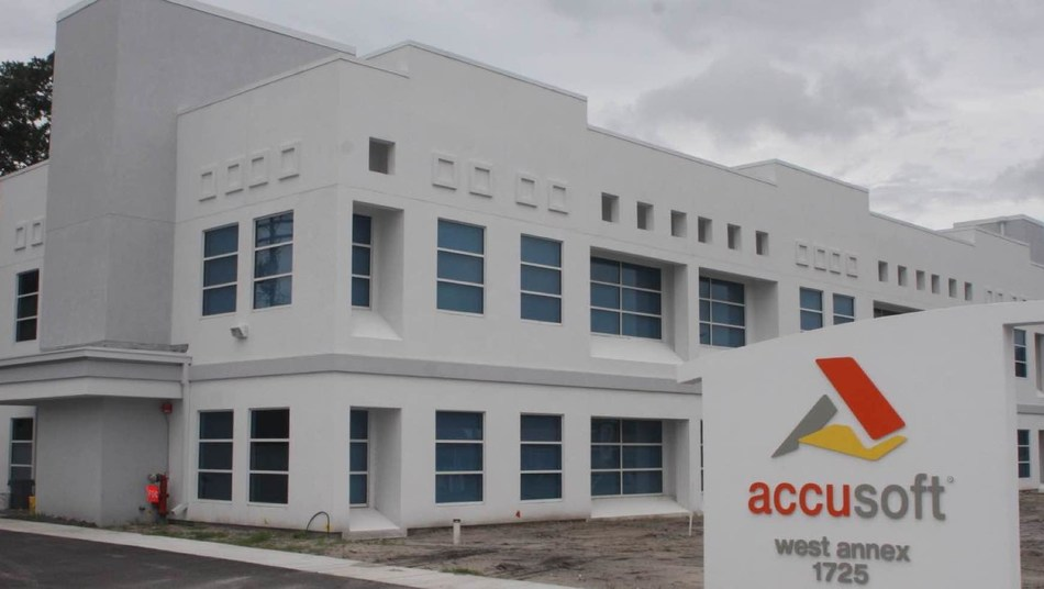 Accusoft's West Annex on Dr. Martin Luther King Jr. Blvd. in Tampa is now for sale.
