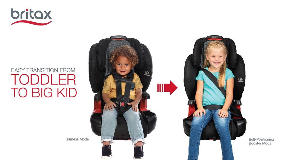Britax DualFit Harness-2-Booster Seat Now Available: Easy Transition from Toddler to Big Kid
