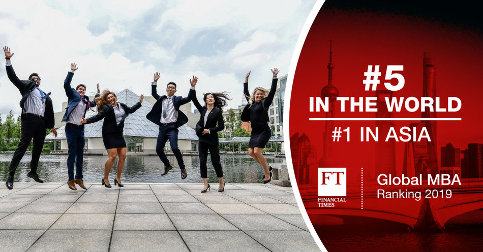 CEIBS MBA Moves Up to #5 in FT Rankings