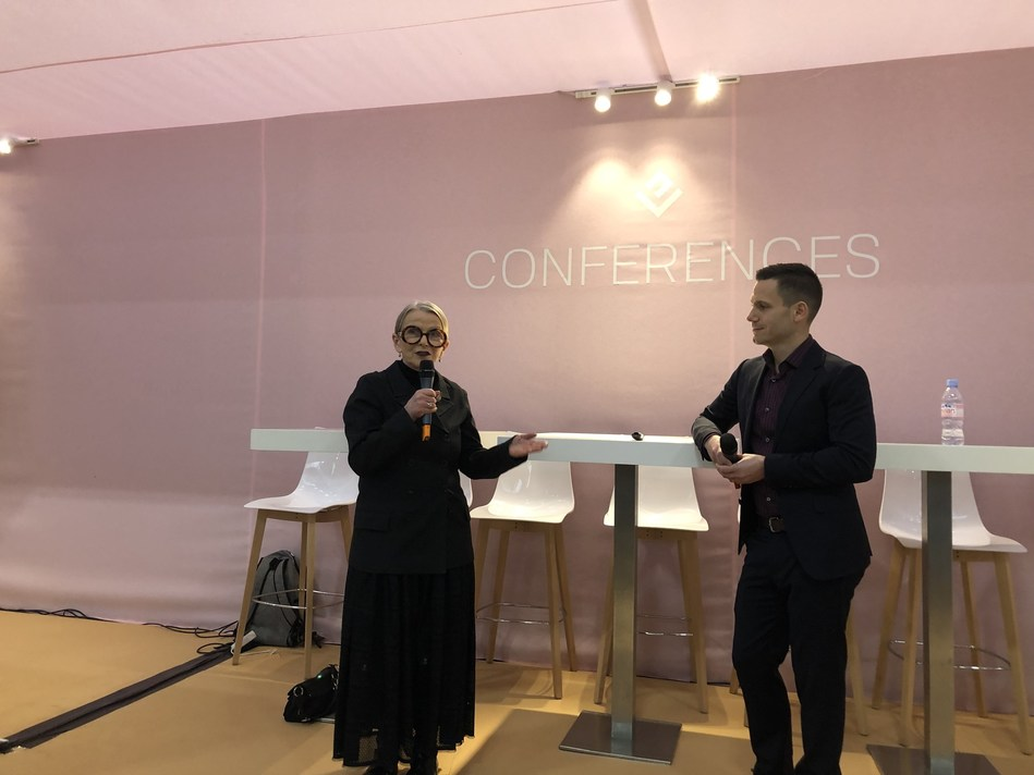 Concepts Paris CEO Jos Berry and Eastman Market Insights Leader Justin Coates discuss consumer insights and emerging opportunities for apparel manufacturers in the bio-economy at Interfilière Paris.