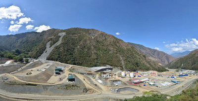 Figure 1: Panoramic View of Infrastructure Site (CNW Group/Continental Gold Inc.)